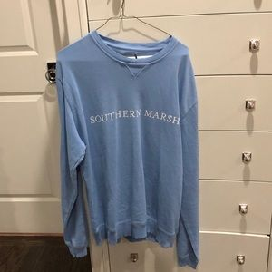 NWT Southern Marsh Blue Pullover